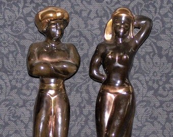 Black Egyptian Figures