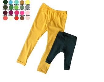 U PICK COLOR Basic leggings in so many