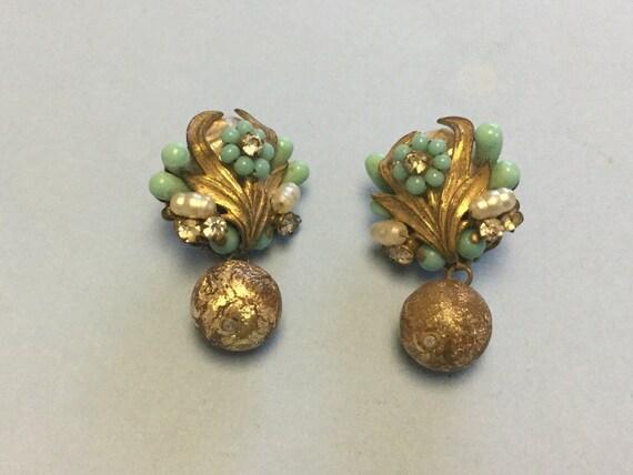 Eugene's 1950 Baroque Earrings