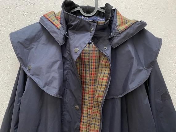 Jack Murphy Rain Coat UK 10 Medium Size Dark blue… - image 2