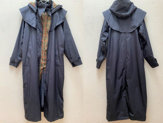 Jack Murphy Rain Coat UK 10 Medium Size Dark blue