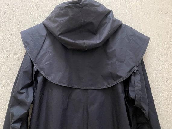 Jack Murphy Rain Coat UK 10 Medium Size Dark blue… - image 10