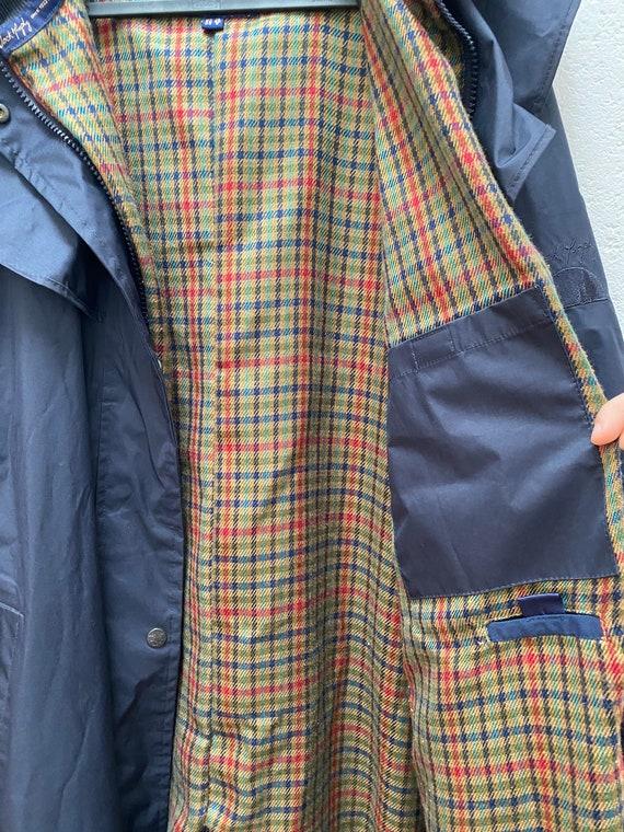 Jack Murphy Rain Coat UK 10 Medium Size Dark blue… - image 6