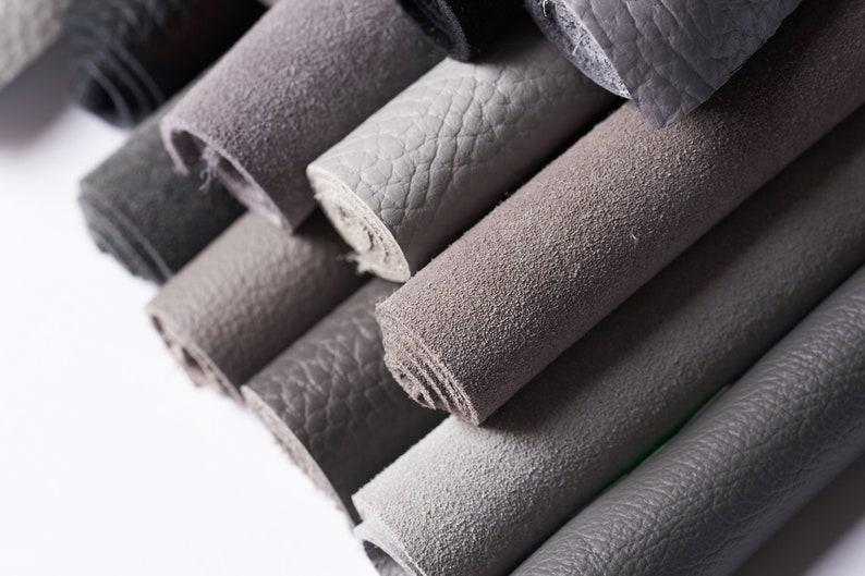 Leather Set FianoLeather Grey Palette 14 pieces 16,8 x 12 each