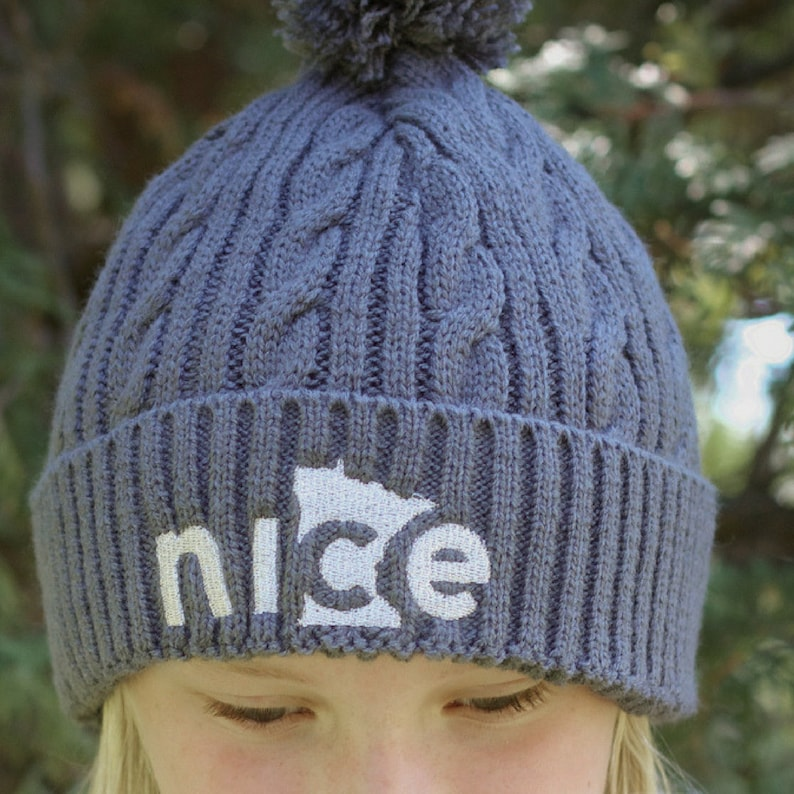 6546b6a0d9937 Minnesota Winter Hat Silver Sparkle Gray Winter Hat Women