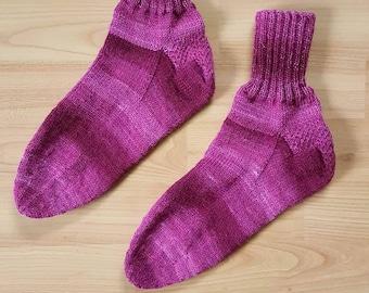 Handgestrickte Socken - Größe 40/41