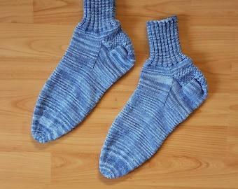 Handgestrickte Socken - Größe 44/45