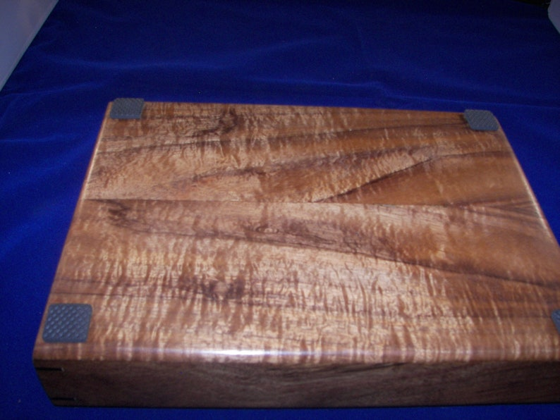 Larger size Wood Tray  Beautiful Figured Koa Valet Tray  Desk Tray 100/_3359