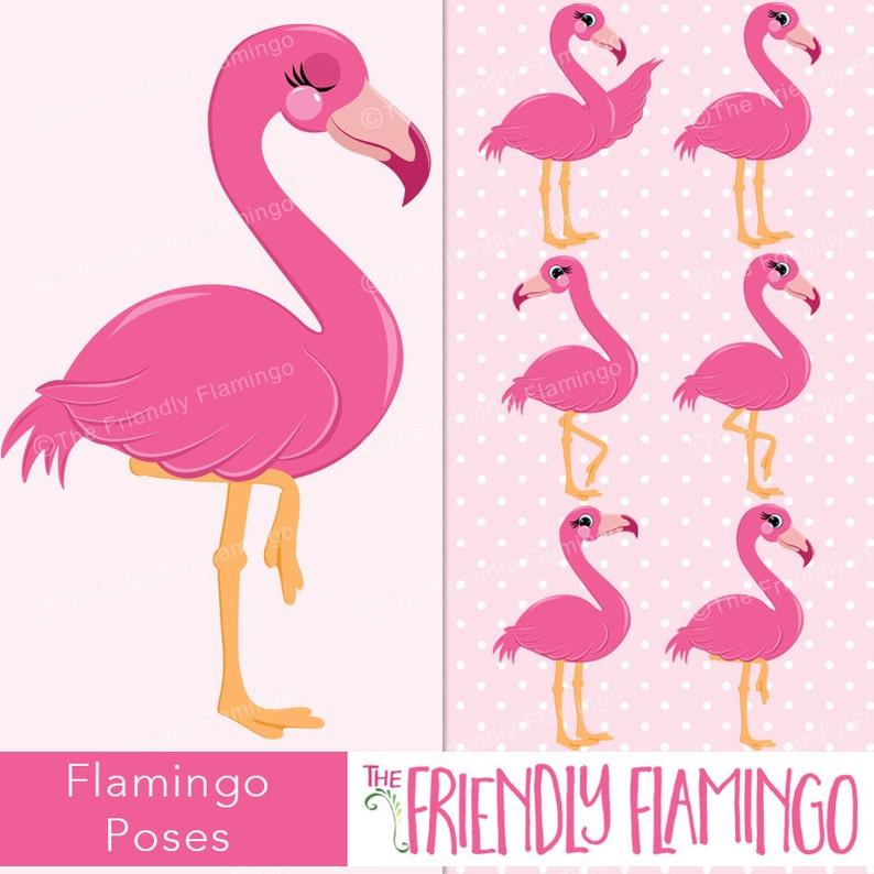 Fenicottero Rosa clipart posa flamingo immagini artistiche  84d5aa6cf5ea