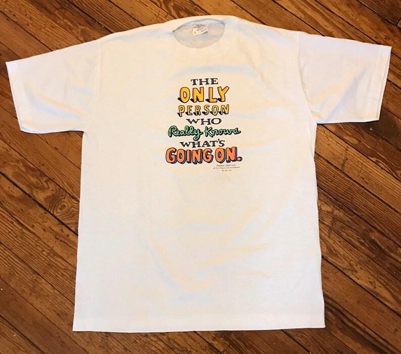 feeb79c9 Vintage Shoebox T Large White Mens Crew Neck Tee Shirt | Etsy