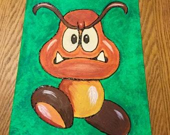 Goomba Painting