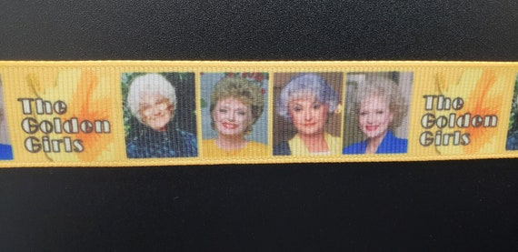 The golden girls long lanyard with heart charm!