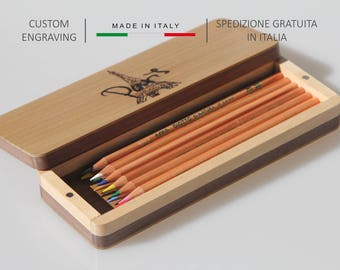 Wooden Pencil box, Pen box, Desk organiser, Gift for her, Anniversary gift, Pen holder, Pen box, Gift for him, Personalized gift ideas