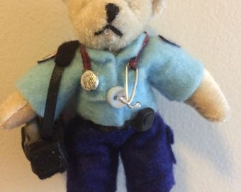 Paramedic bear ornament