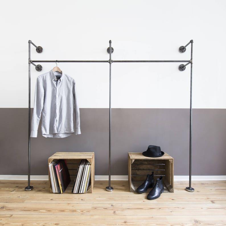 Geliefde Open kledingkast open kast industriële garderobe   Etsy @YL85