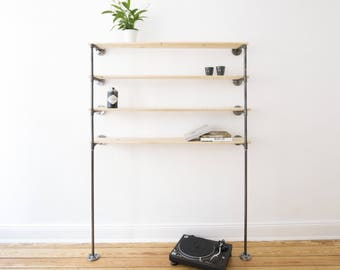Industrial Design Bookshelf Bookcase Shelf Wandregal Bücherregal Industriedesign