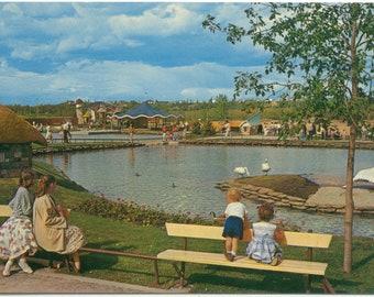 The Lagoon @ Storyland Valley Children's Zoo Edmonton Zoo EDMONTON Alberta Canada POSTCARD