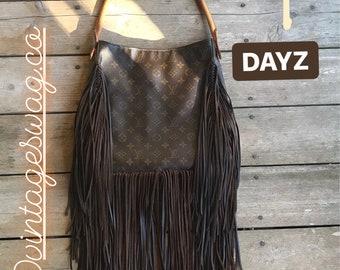 Vintage Swag Vintage Louis Vuitton Fringed Shoulder Bag