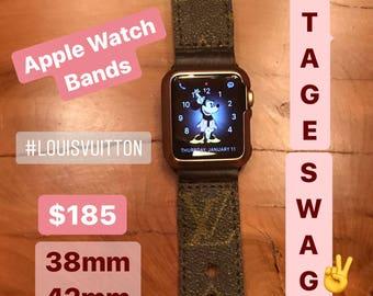 Vintage Swag Vintage Louis Vuitton Monogram Canvas Apple Watchband