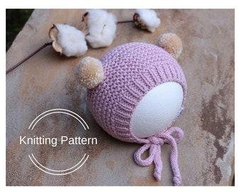 b65d12046 Knit bonnet pattern