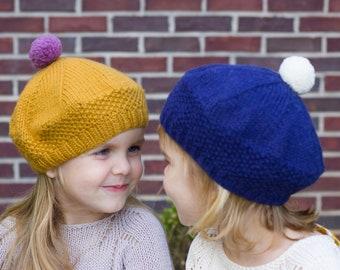 Knit toddler beret  46789dbf7bf1