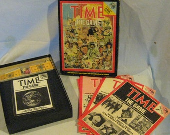 Time The Game - Board Game from 1983