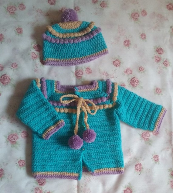 Crochet Baby Boy Outfits Crochet Baby Outfits Crochet Baby Etsy
