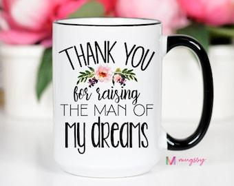 Man Of My Dreams Mug Mother Of The Groom Mother In Law Gifts Mil Mug Wedding Mug