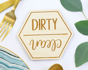 Clean and Dirty Magnet, Clean Dirty Dishwasher Magnet, Dishwasher Magnet, Magnet for Dishwasher, Dishwasher Magnet Clean and Dirty, magnet