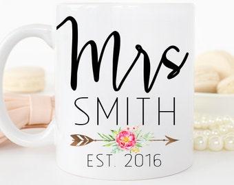 Personalized Bride Mug, Bride to Be Mug, Bride Mug, Engagement Gift, Wedding Mug, Personalized Bride Gift, Coffee Mug, Wedding Gift, Mug