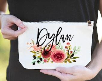 Bridesmaid Proposal Gift, Bridesmaid Proposal Bags, Bridesmaid Proposal Gift Bags, Maid of Honor Proposal Bag, Makeup Bag Bridesmaid propose