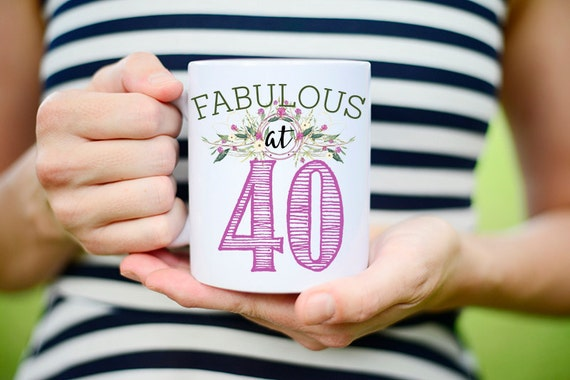 Funny 40th Birthday Gift For Women