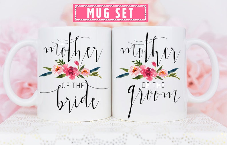 Mother of the Bride and Groom Mugs Mother of Bride Mug image 0
