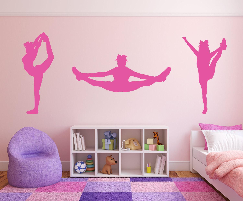 Cheerleader Cheer Package Room Wall Decor Vinyl Decal Sticker | Etsy