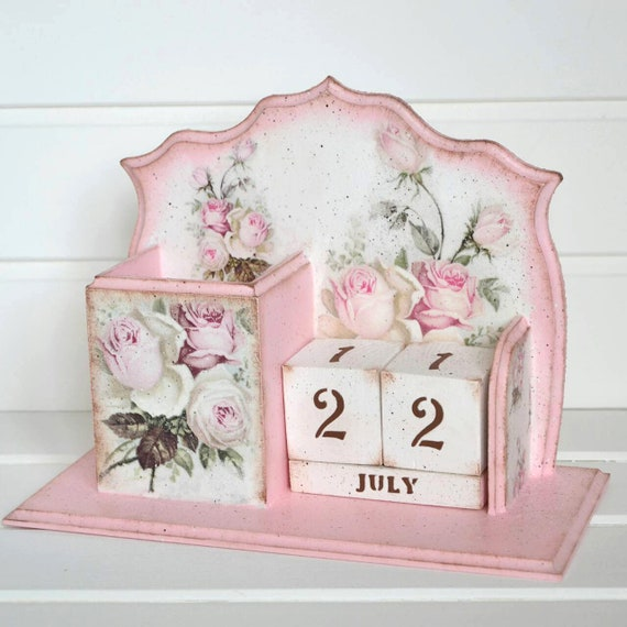Shabby Chic Calendar Desk Accessory Women Wedding Decoration Etsy,Where To Find Houses For Rent