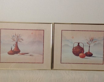 Stolarz~ Set of Two Signed Prints