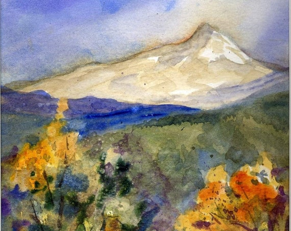 Mount Hood signed print by Bonnie White Mt. Hood 23