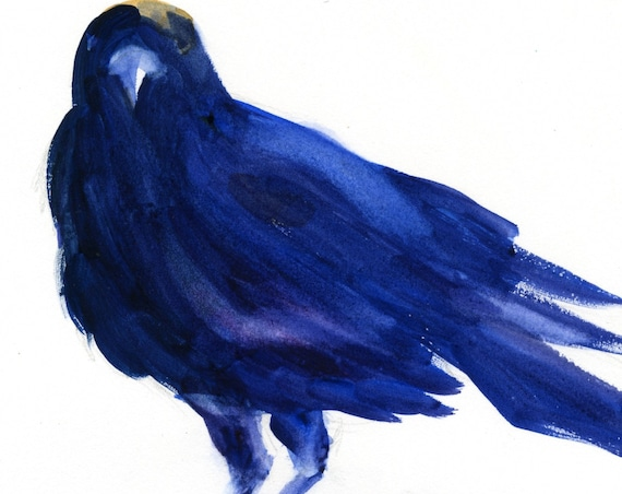 crow print signed - crow 4