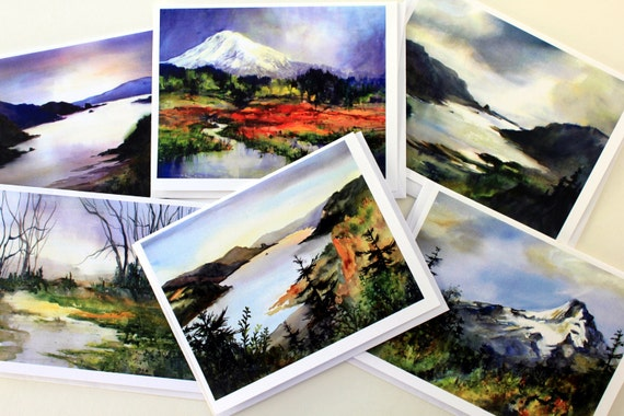 Note Cards, Columbia Gorge Gold