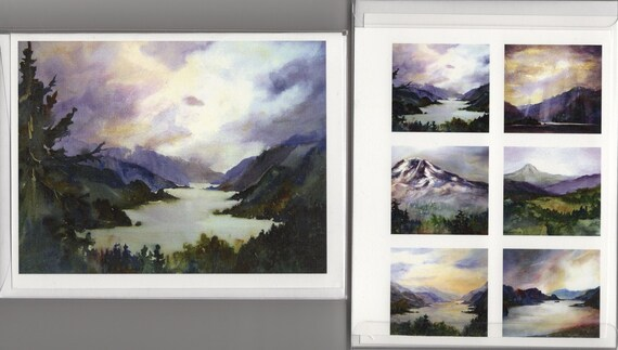 Columbia Gorge 71 - Columbia Gorge Note Cards