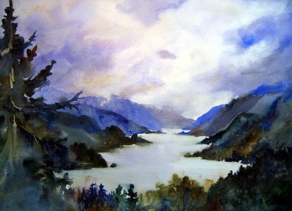 Columbia Gorge 71 - a signed print by Columbia Gorge Artist Bonnie White