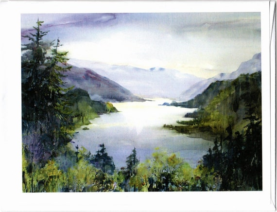 Columbia Gorge 243 blank note cards 4.25 x 5 inches with envelopes