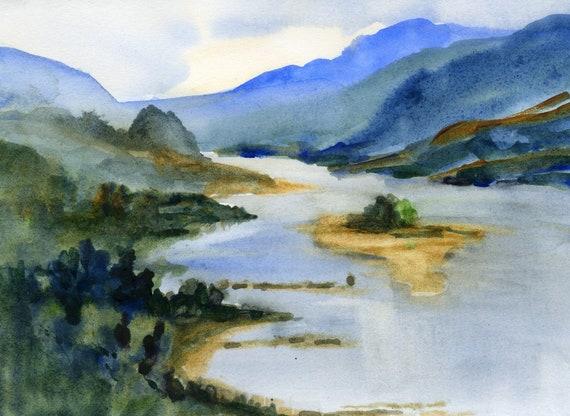 Columbia Gorge print - 136