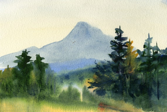 Mount Hood signed print by Bonnie White Mt. Hood 163
