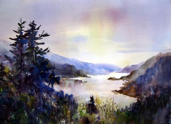 Columbia Gorge print - 193