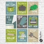 Kitchen Music Pun Printables - Funny Kitchen Sayings - Punny Decor - Personalized Kitchen Decor - Kitchen printables - Custom Kitchen Decor