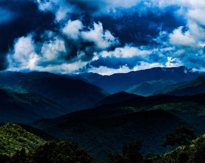 Blue Ridge Shadows