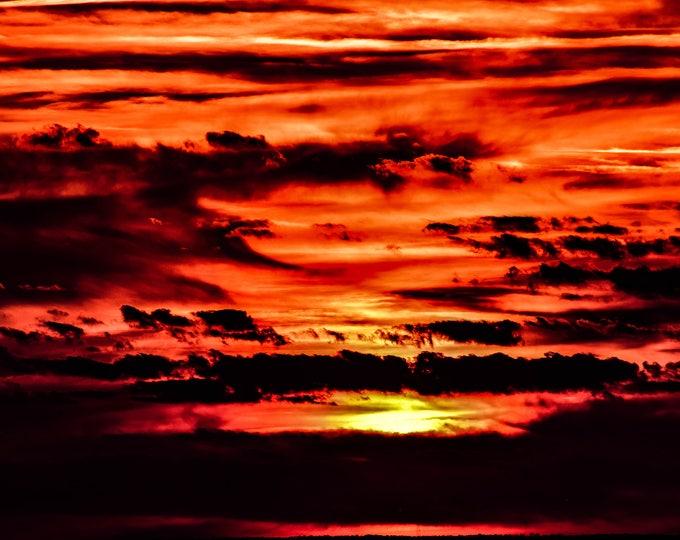 Sunset Open Ocean