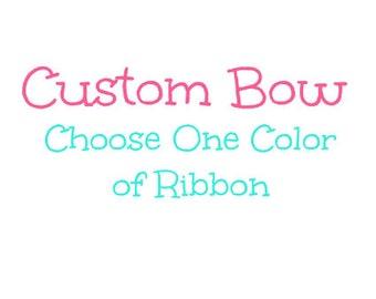 Custom Hair Bow Any Show/Theme