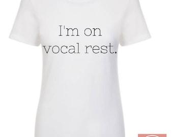 Vocal Rest - Broadway Bowtique